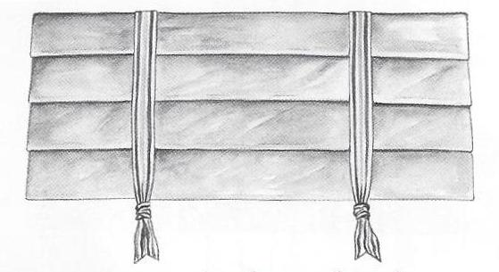 Stagecoach Pleated VAlance